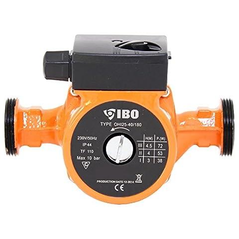 Umwälzpumpe Heizungspumpe IBO 25-40/180 Pumpe Warmwasser Heizung Nassläufer NEU