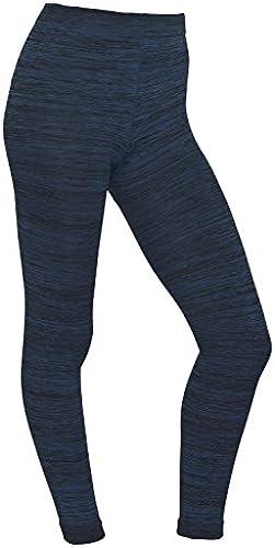 Damen Thermo Leggings gefüttert mit Innenfleece   extra warm in Blau Rot Grau Türkis Winter Herbst - Piarini