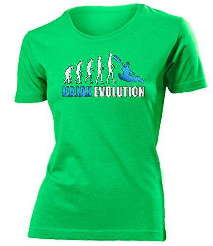 KAJAK EVOLUTION 619(F-Kellygreen-Weiss-Blau) Gr. S