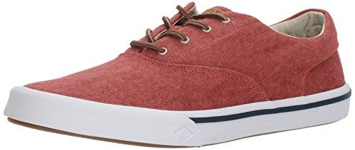 Sperry Boot (Sperry Herren Striper II CVO Washed Red Sneaker Rot, 46 EU)