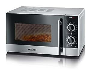 Severin mw 7874 forno a microonde 20 lt con grill - Forno elettrico con microonde integrato ...