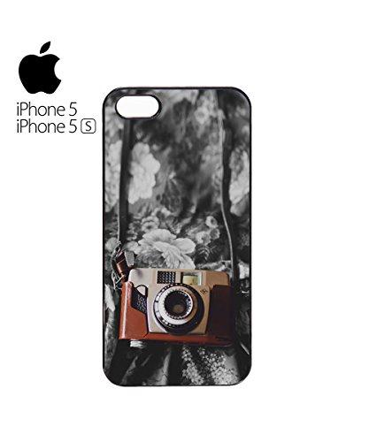 Retro Photo Camera Vintage Mobile Phone Case Cover iPhone 6 Plus + White Blanc