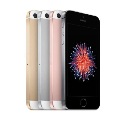 Apple Computer Apple iPhone SE Smartphone (4 Zoll (10,2 cm) Touch-Display, 64 GB Speicher, IOS) silber