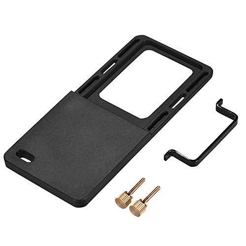 Docooler Adapter Mount Plate for Sports Action Camera, Handheld Gimble Stabilizer Clamp Plate for GoPro Hero 6/5/4/3+ for YI 4K SJCAM for DJI OSMO Mobile 2 Zhiyun Smooth 4 Feiyu SPG2
