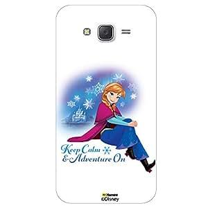 Hamee Disney Princess Frozen Official Licensed Designer Cover Hard Back Case for Samsung Galaxy On5 / On 5 ( Anna Keep Calm )