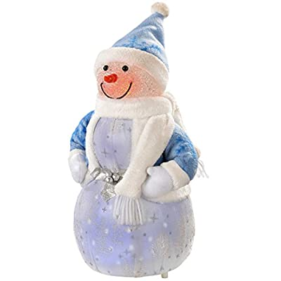 Snowman Or Santa with 8 Musical Songs and LED Body,Available Small -Large-Medium By WeRChristmas