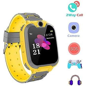 Hangang Reloj para Niños Niña smartwatchLa Musica y 7 Juegos Smart ...