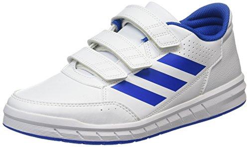 adidas Altasport Cf, Chaussures de Gymnastique Mixte Enfant Blanc (Footwear White/blue/footwear White)