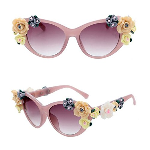 Polarisierte Sportart Sonnenbrille Fahrerbrille mit unzerbrechlichem Anti-Kratzer-Rahmen Anti-Diebstahl für Männer und Frauen Radfahren Fahren Fischen Fahren Wandern Golf ( Color : Jelly pink )