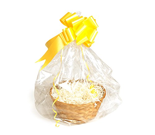 Your Gift Basket - Round Bamboo Basket Tray u0026 DIY H&er Kit with Cream Shred  sc 1 st  Offer of the Day & Gift Basket Round Bamboo Basket Tray DIY | Offer of the day