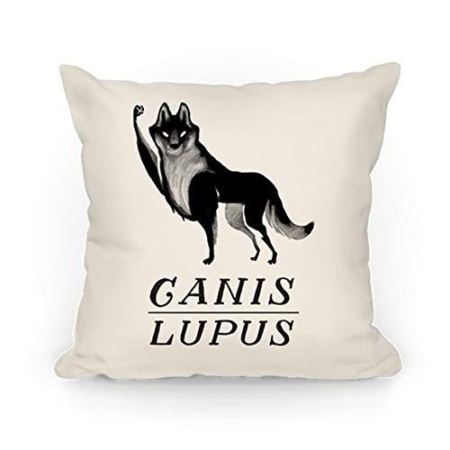 rongxincailiaoke Kissenbezüge Canis Lupus (Part 2) Throw Pillow Case Cushion Cover 18×18 inch