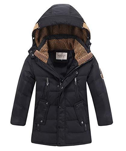 Piumino In Cotone Per Bambini Giacca Invernale Cappuccio Cappotto Parka Piumino Giacca Puffer Cappotto Imbottito Snowsuit