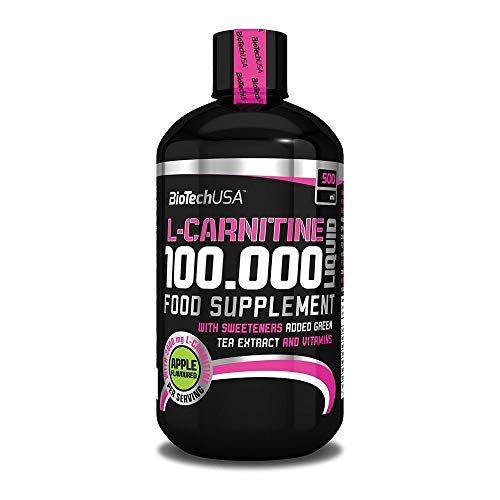 Biotech USA L-Carnitine 100.000 Liquid, 500ml , Kirsche