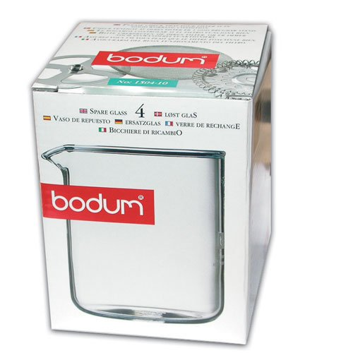 Bodum 4 cup Coffee Press Replacement Beaker, Glass Test