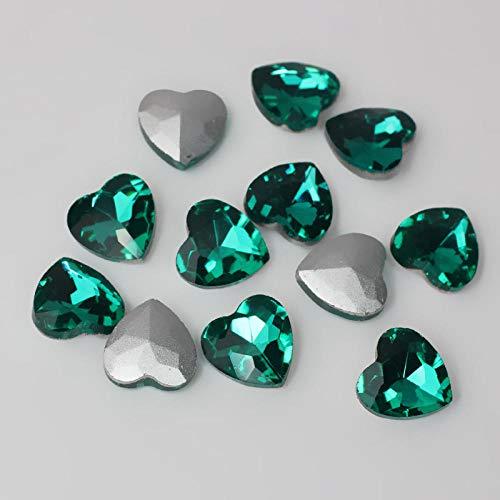 Accesorios joyería fondo cristal afilado gema palo
