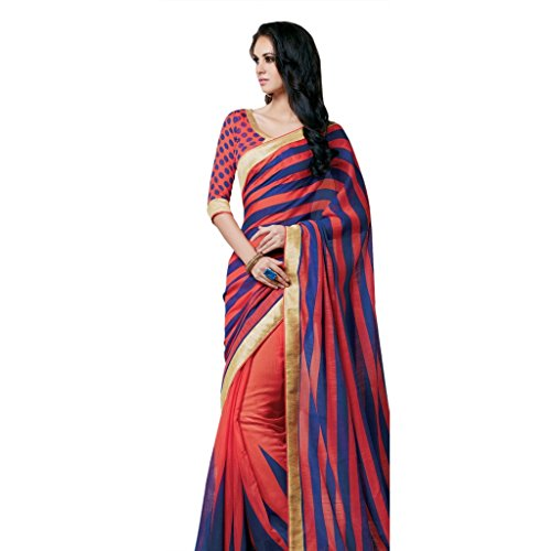 Jay Sarees Linen Saree With Blouse Piece (Jcsari2995-1953_Multicoloured_Free Size)