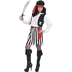 WIDMANN Widman - Disfraz de pirata para mujer, talla S (S/02761)
