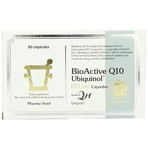 411U 1YIQbL. SS300  - Pharma Nord 100mg BioActive Q10 Uniqinol 60 Capsules