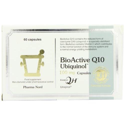 Pharma Nord 100mg BioActive Q10 Uniqinol 60 Capsules