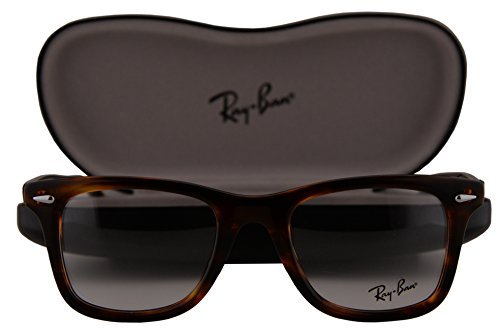 Ray-Ban RX5317 Eyeglasses 50-21-145 Striped Brown Havana 2144 RB5317 image