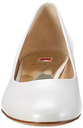 Högl Damen 3-10 3003 0300 Pumps Weiß (perlweiß0300)