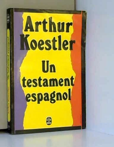Un testament espagnol