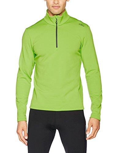 CMP Fleece Rolli Herren Shirt, Lime Green, 56, 3E15747