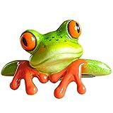KESOTO Mini Frosch Dekofiguren Deko Figur Skulptur Geschenk Tischdeko - # 1