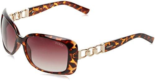 Guess Damen Sonnenbrille GF6023_52F, Braun (Havana), 58