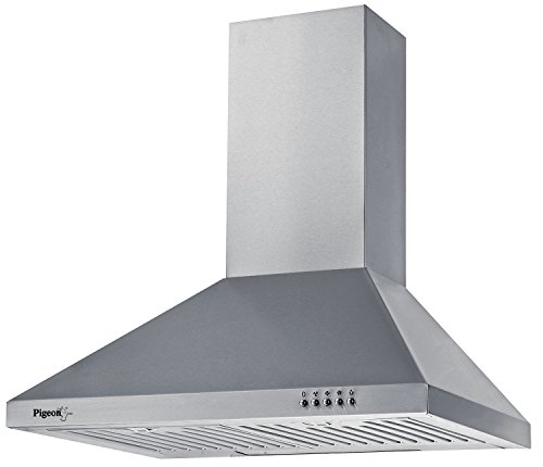 Pigeon 60 Cm 860 M3/h Chimney (sterling Dlx, Stainless Steel)