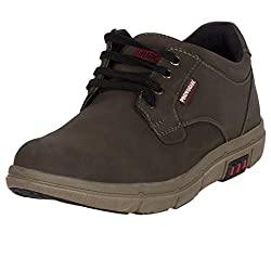 Provogue Mens Olive Synthetic Sneakers-(8 UK)