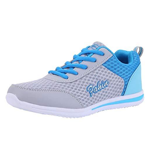 huhe Laufschuhe Breathable Wanderschuhe Mode Joggingschuhe Flache Atmungsaktiv Freizeitschuhe Sportschuhe Gym Schuhe,ABsoar ()