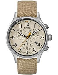 d4e22da3623f Timex Reloj Cronógrafo para Hombre de Cuarzo con Correa en Nailon TW2R47300