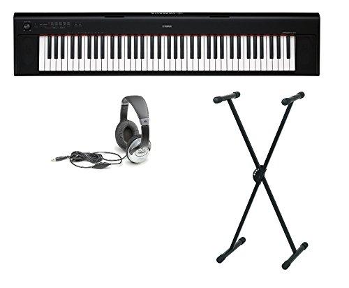 Yamaha NP-32B Set mit Ständer und Kopfhörer