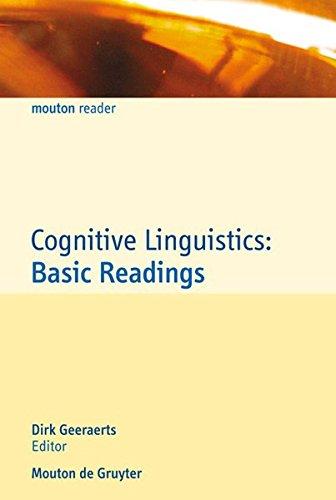 Cognitive Linguistics: Basic Readings (Cognitive Linguistics Research [CLR]) por From Walter de Gruyter & Co