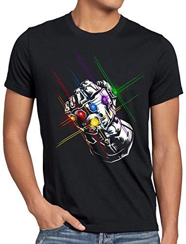 A.N.T. Thanos Fist Herren T-Shirt Infinity superheld Kino, Größe:XXL Infinity T-shirt