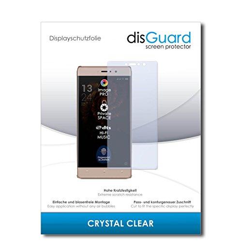disGuard® Bildschirmschutzfolie [Crystal Clear] kompatibel mit Allview X3 Soul Style [2 Stück] Kristallklar, Transparent, Unsichtbar, Extrem Kratzfest, Anti-Fingerabdruck - Panzerglas Folie, Schutzfolie