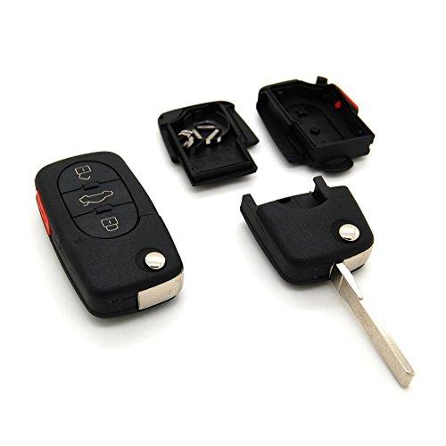 Volkswagen - Guscio per chiave telecomando a pulsanti Volkswagen Polo Passat Golf 3 4 5 6