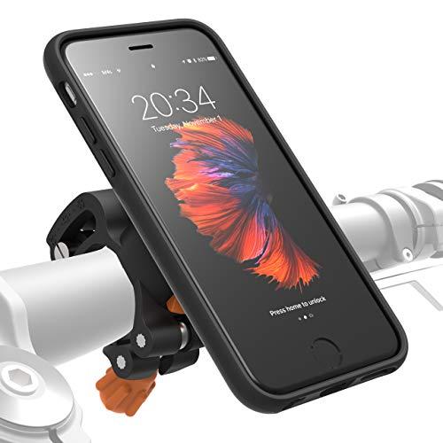 MORPHEUS LABS M4s Handyhalterung Fahrrad iPhone 6/ 6s Fahrradhalterung Halterung & iPhone 6/ 6s Hülle magnetisch fürs Rad, DropTest, mit Quick Lock, Bike-Kit passend für meisten Lenker schwarz