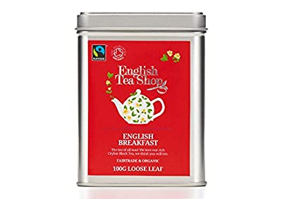 English Tea Shop Thé Noir English Breakfast Bio Vrac 100 g