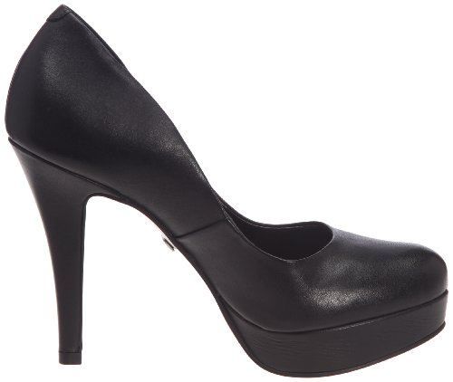 Nappa 886 Schwarz 01 Damen 19952 Plateau Black Pumps Buffalo London SqOwCnOZ