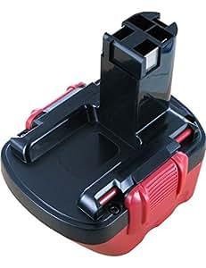 Batterie type BOSCH 2 607 335 709, 12.0V, 3000mAh, Ni-MH