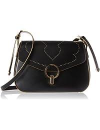 Tosca Blu - Casino' Royale, Shoppers y bolsos de hombro Mujer, Schwarz (Black), 9.5x17.5x26.5 cm (B x H T)