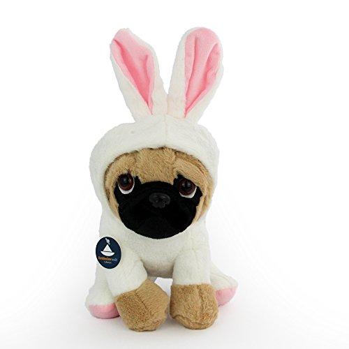sen-Kostüm (H. ca. 24 cm) von Entdeckerwelt (Mops-kostüm Für Hunde)