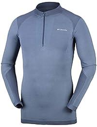 Columbia ENGENEERED Baselayer Half Zip Camiseta térmica Cremallera Hombre, ...