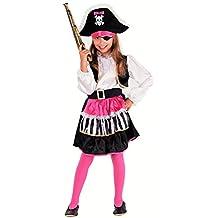Lady Piratin - Piraten Kostüm Mädchen - Piratin Kostüm Kinder Mädchen Fasching Karneval
