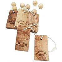 Grandma' s Secret czmk001Moth protection-old CINNAMOMUN CAMPHORA legno radice aromatico Set (5blocks + 8balls) Moth Away per armadi e cassetti