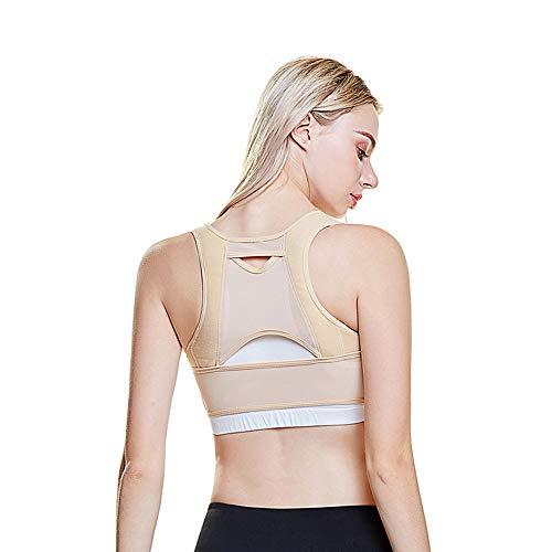 AO TE Körperhaltung Korrektor, Bruststützen Für Frauen, Shape Corrector Verhindern Brust Buckel, Schlaffe, Haltung Korsett BH X Strap Vest,M -