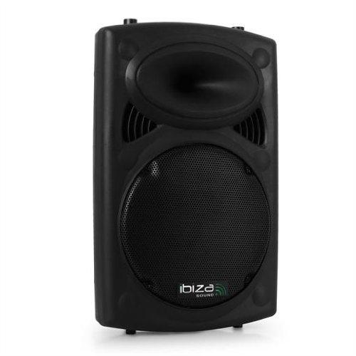 Ibiza SLK-10 Cassa acustica passiva diffusore (500 Watt, a 2 vie, subwoofer da 25 CM, ABS)