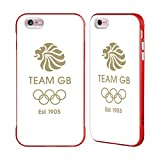 Official Team GB British Olympic Association EST Gold Logo Red Fender Case for iPhone 6 Plus/iPhone 6s Plus